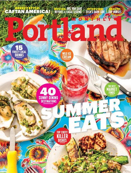 Portland Monthly Cover - 7/1/2018