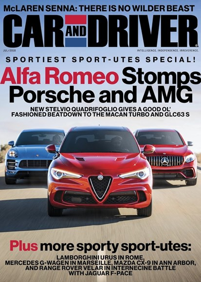 Car And Driver Cover - 7/1/2018