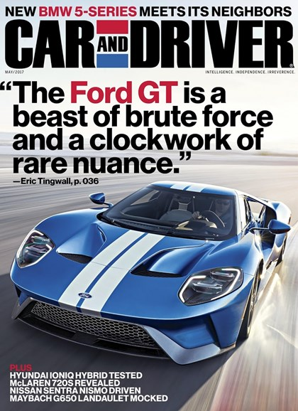 Car And Driver Cover - 5/1/2016