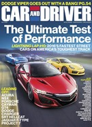 Car And Driver Magazine 10/1/2016