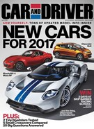 Car And Driver Magazine 9/1/2016