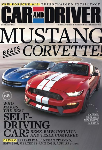 Car And Driver Cover - 2/1/2016