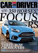 Car And Driver Magazine 3/1/2016