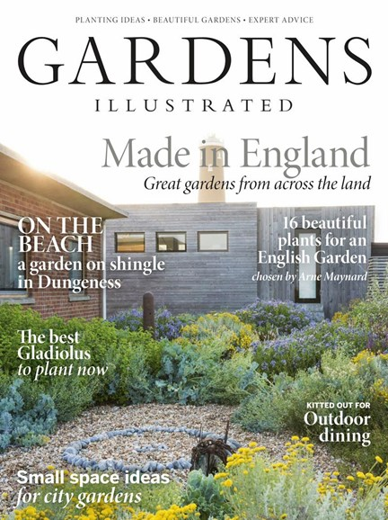 Gardens Illustrated Cover - 7/1/2018