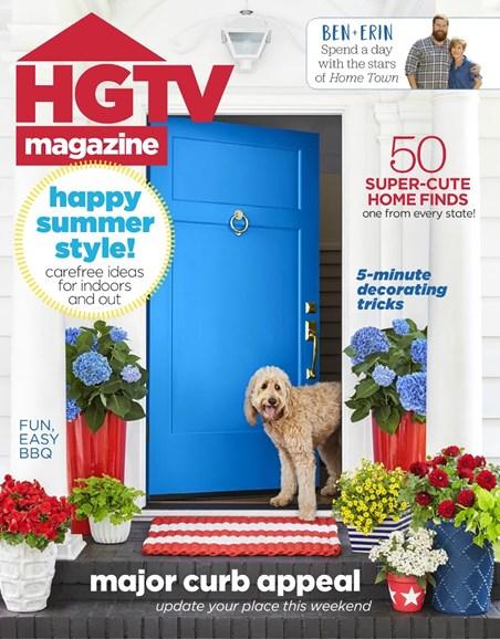 HGTV Cover - 7/1/2018