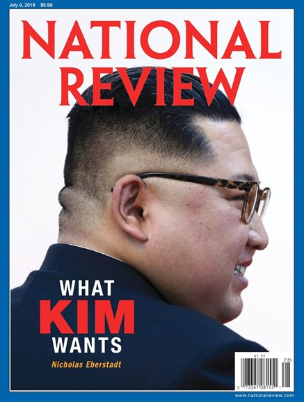 National Review Cover - 7/9/2018