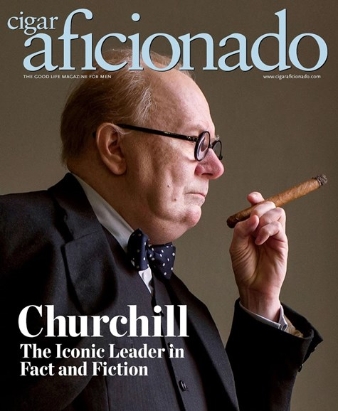 Cigar Aficionado Cover - 5/1/2018