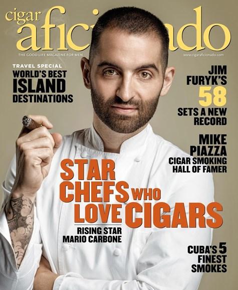 Cigar Aficionado Cover - 11/1/2016