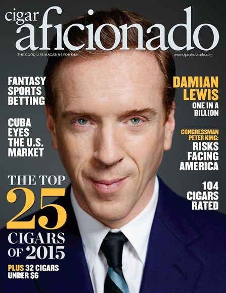 Cigar Aficionado Cover - 1/1/2016