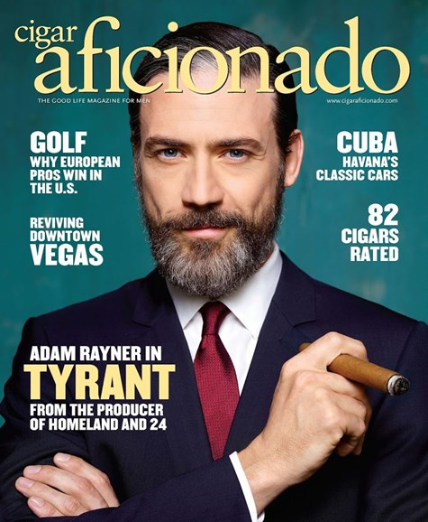Cigar Aficionado Cover - 7/1/2016