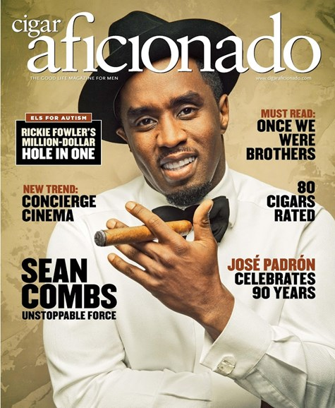 Cigar Aficionado Cover - 5/1/2016