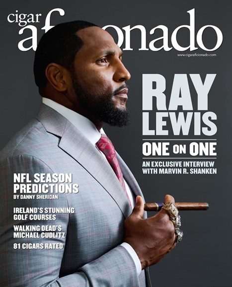 Cigar Aficionado Cover - 9/1/2016