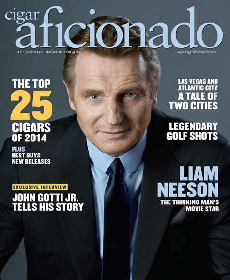 Cigar Aficionado Cover - 1/1/2015
