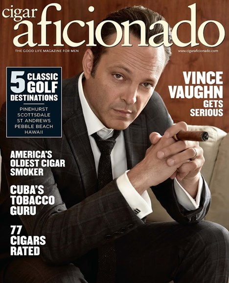Cigar Aficionado Cover - 7/1/2015