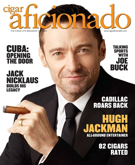 Cigar Aficionado Cover - 3/1/2015
