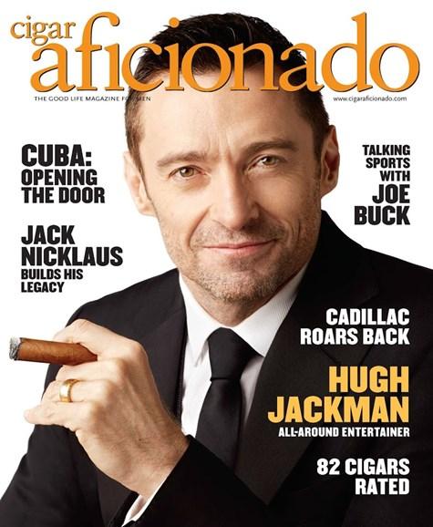 Cigar Aficionado Cover - 3/1/2015