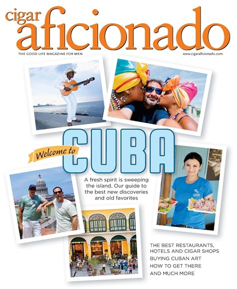 Cigar Aficionado Cover - 5/1/2015