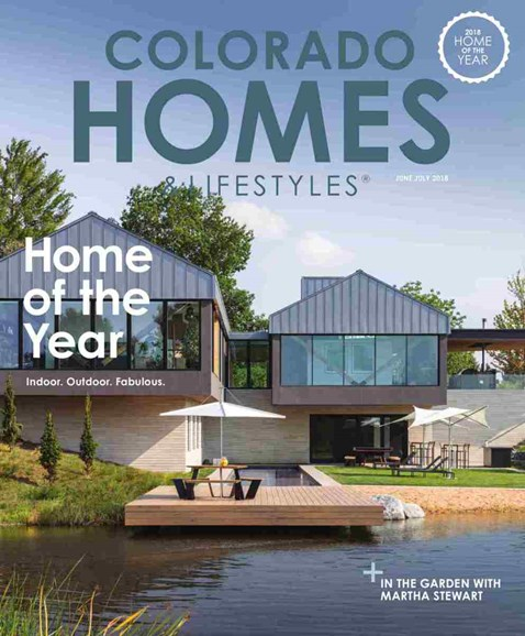 Colorado Homes & Lifestyles Cover - 6/1/2018