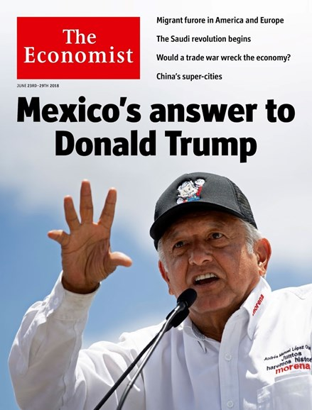The Economist Cover - 6/23/2018