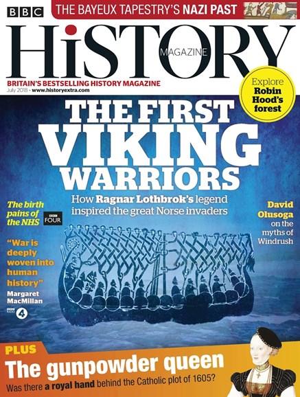 BBC History Cover - 7/1/2018