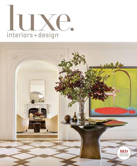 Luxe Interiors & Design Cover - 5/1/2018