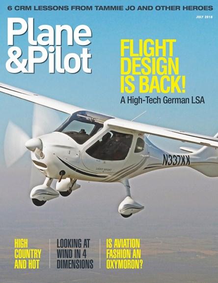 Plane & Pilot Cover - 7/1/2018