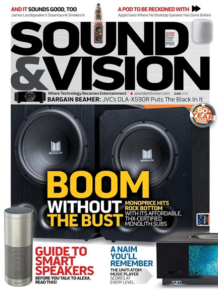Sound & Vision Cover - 6/1/2018