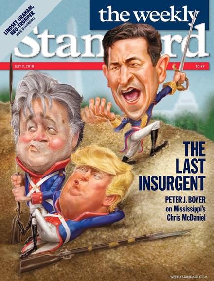 Washington Examiner Cover - 7/2/2018