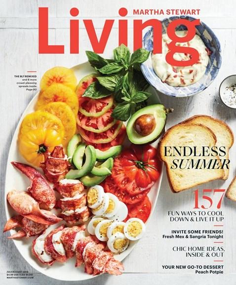 Martha Stewart Living Cover - 7/1/2018