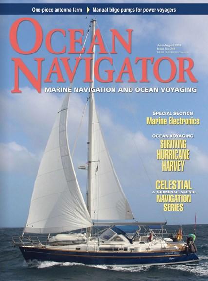 Ocean Navigator Cover - 7/1/2018