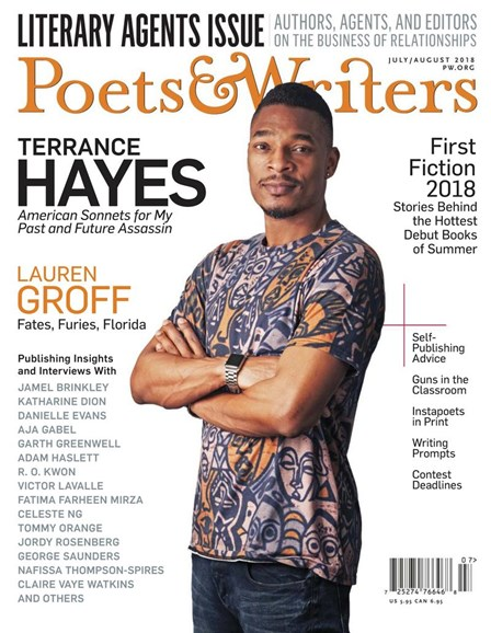 Poets & Writers Cover - 7/1/2018