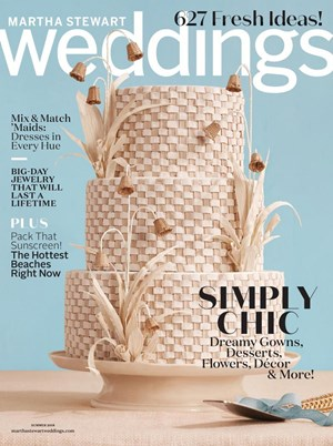 Martha Stewart Weddings | 6/1/2018 Cover