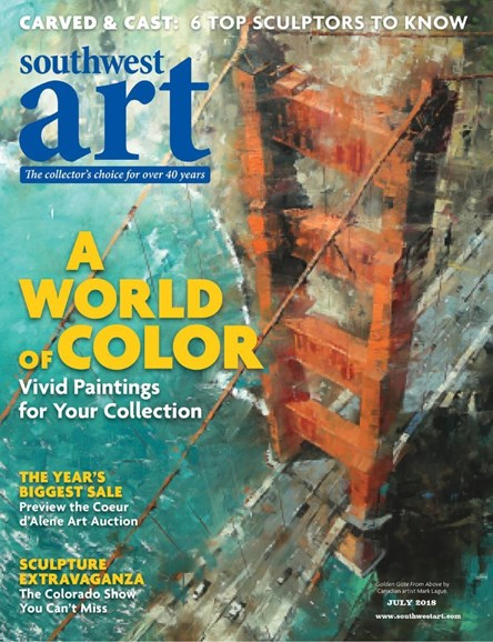 Southwest Art Cover - 7/1/2018