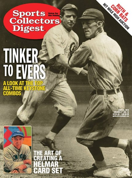 Sports Collectors Digest Cover - 6/22/2018