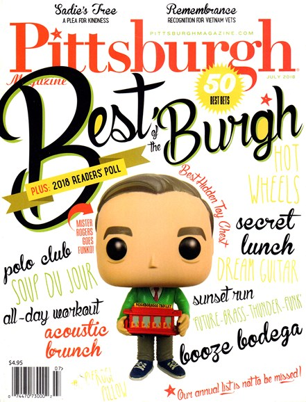 Pittsburgh Magazine Cover - 7/1/2018