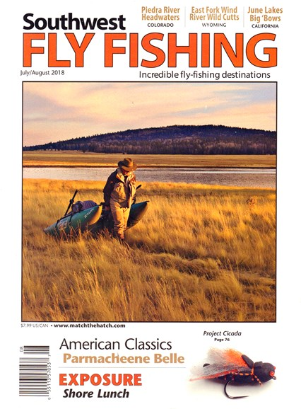 Southwest Fly Fishing Cover - 7/1/2018