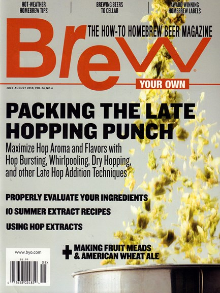 Brew Your Own Cover - 7/1/2018