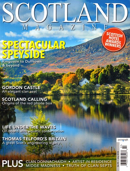 Scotland Magazine Cover - 7/1/2018