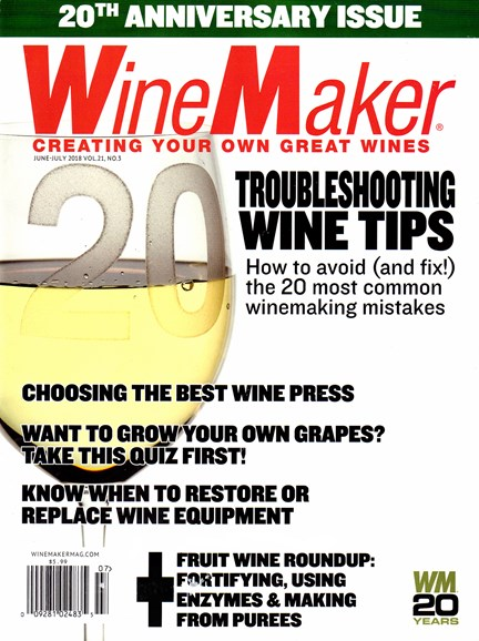 Winemaker Cover - 6/1/2018