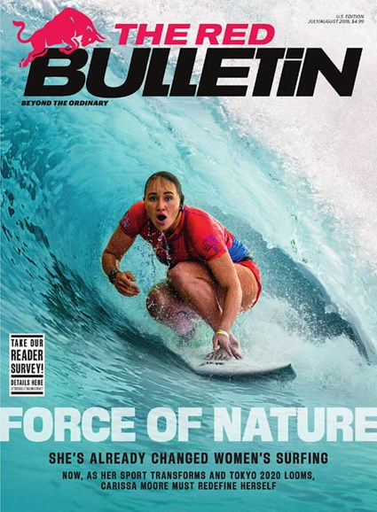 The Red Bulletin Cover - 7/1/2018