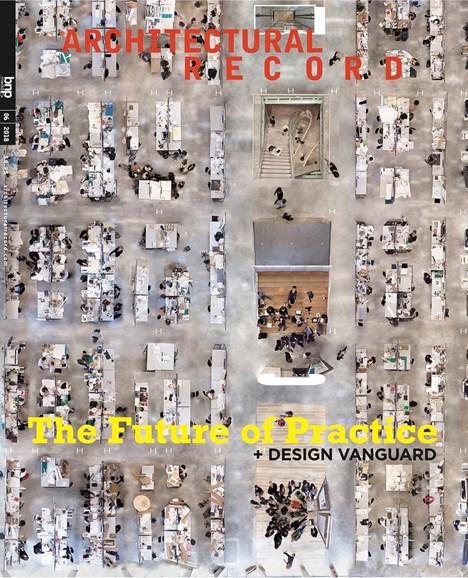 Architectural Record Cover - 6/1/2018