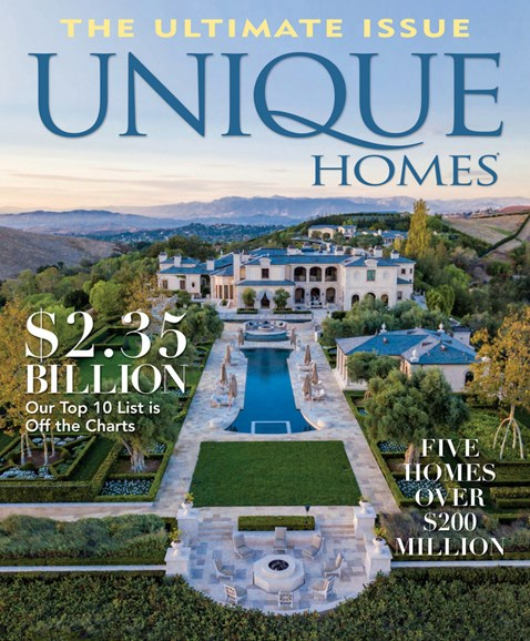 Unique Homes Cover - 5/1/2018