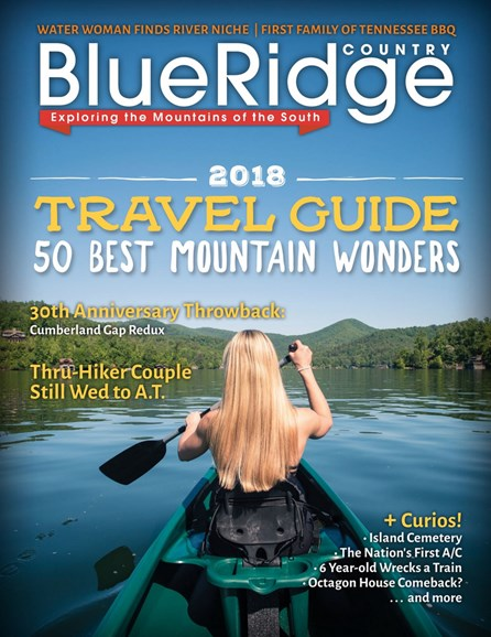 Blue Ridge Country Cover - 1/1/2018
