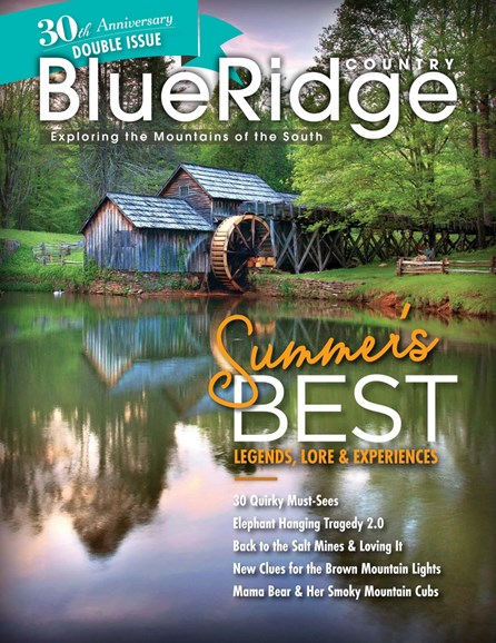 Blue Ridge Country Cover - 7/1/2018