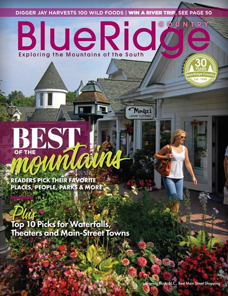 Blue Ridge Country Cover - 5/1/2018