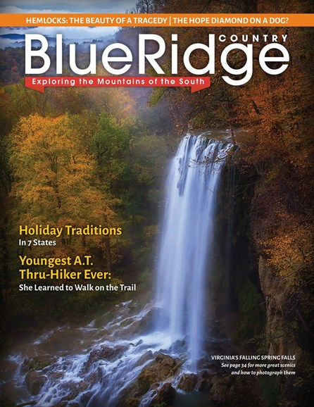 Blue Ridge Country Cover - 12/1/2017