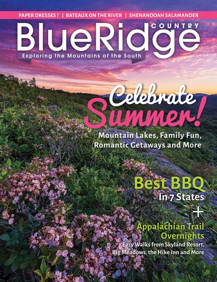 Blue Ridge Country Cover - 6/1/2017