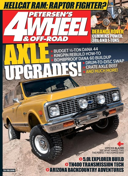 4 Wheel & Off-Road Cover - 9/1/2018