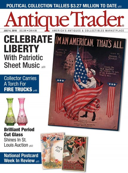 Antique Trader Cover - 7/4/2018