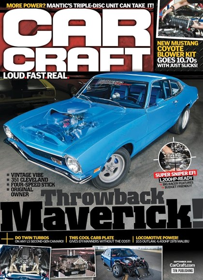 Car Craft Cover - 9/1/2018